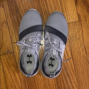 Under Armor sneakers! Only wore 3 times.